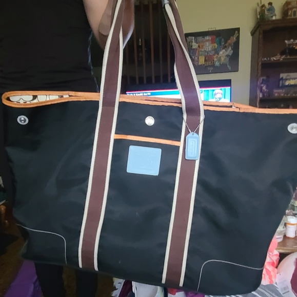 COACH Nylon Tote Bag